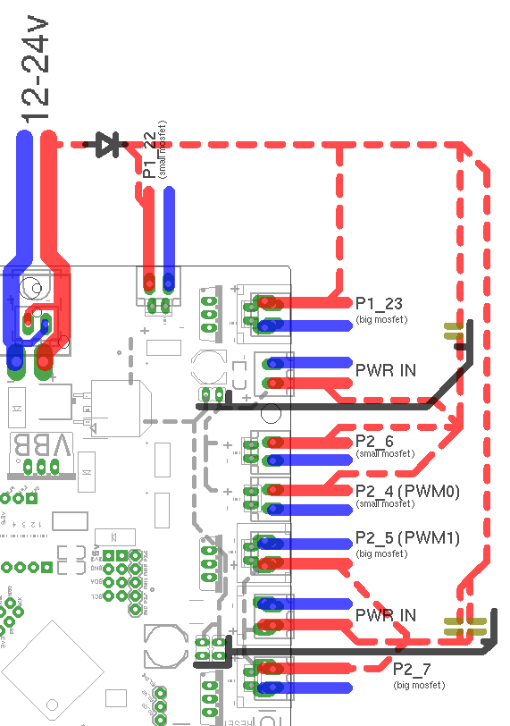 smoothieboard mosfets mosfet wire diagram diagram wiring diagrams for diy car repairs mosfet wiring diagram at n-0.co